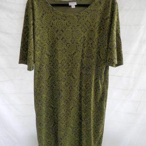 LuLaRoe Julia Dress size 3XL  NWOT
